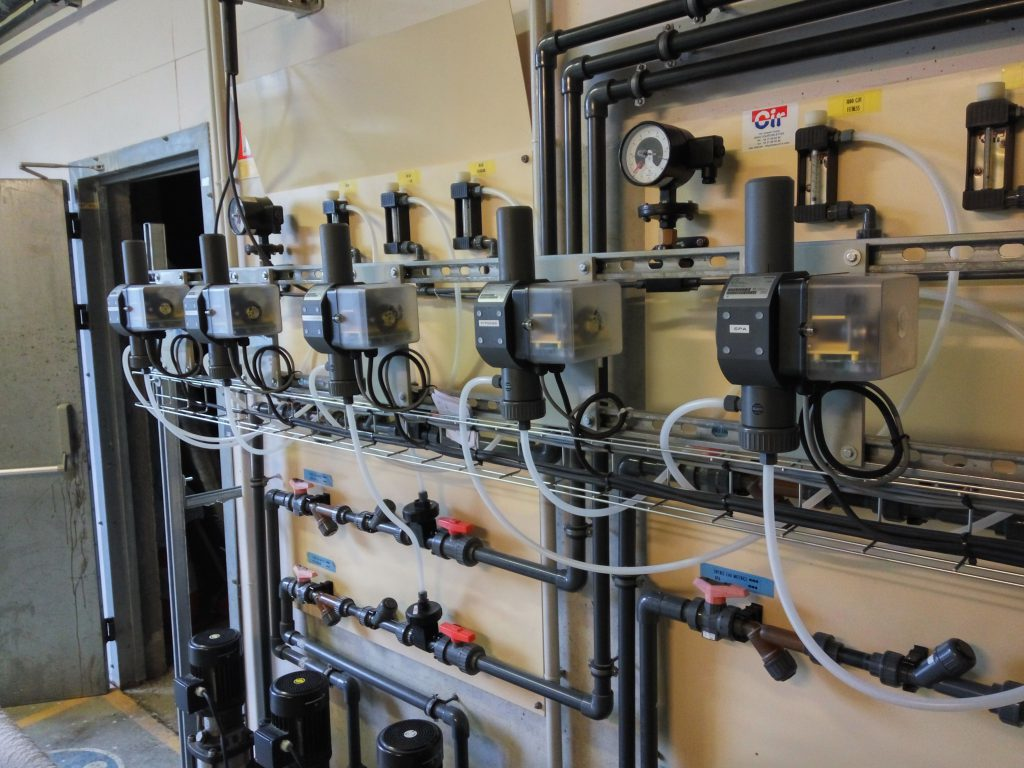 Centre Aquatique de la Pépinière à Buxerolles – Remplacement des analyseurs